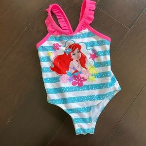 Little Mermaid one piece swimwear